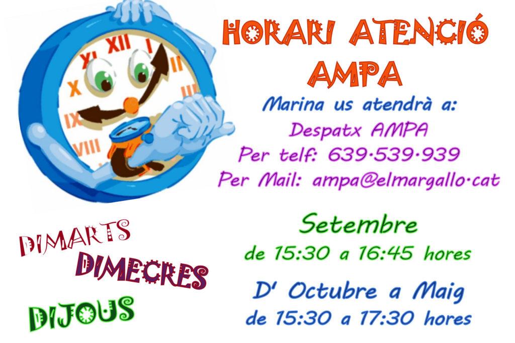 horario AMPA